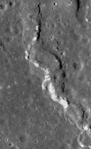 Wrinkle Ridges on the Moon