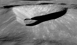 Irregular Impact Crater