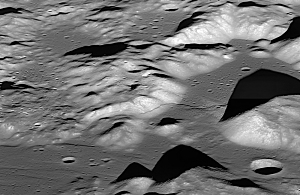 Largest Lunar Lobate Scarp