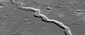 Largest Sinuous Rille