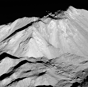 Close-Up of Tycho's Central Peak