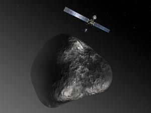 Rosetta Follows a Comet