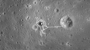Apollo 11 Landing Site Map