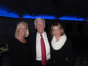 Jennifer Johnson, Capt. Gene Cernan, and Marna Schnabel