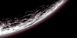 Haze Above Pluto