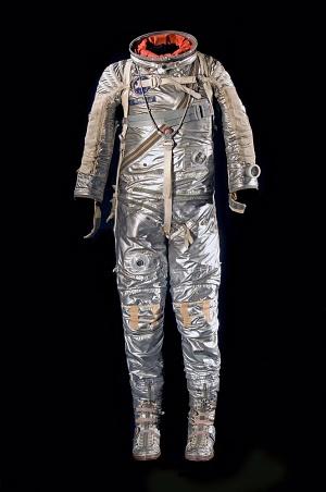 Alan Shepard's Freedom 7  flight suit