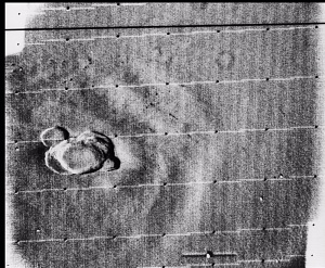 Ascraeus Mons Volcano, Mars