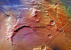 Solis Planum Region, Mars