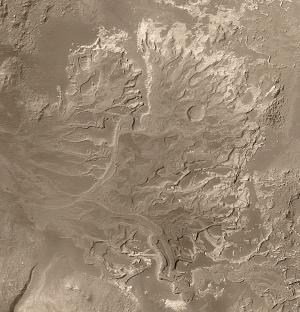 Eberswalde Crater, Mars