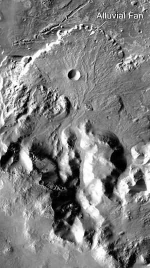 Alluvial Fans on Mars