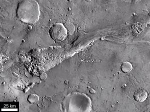 Ravi Vallis, Mars