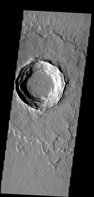 Ramparts on Mars