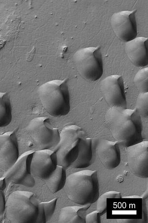 Wirtz Crater, Mars