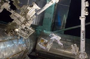 Astronaut Mike Fossum