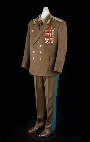 Leonov's Military Uniform