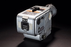 Back of Hasselblad Camera