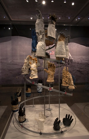 "Glove Display in ""Outside the Spacecraft"""
