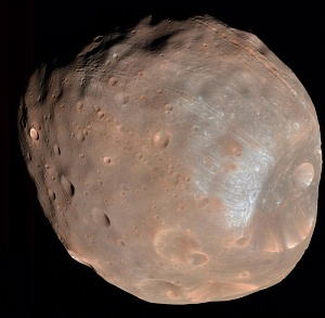 PIA10368: Phobos from 6,800 Kilometers (Color)