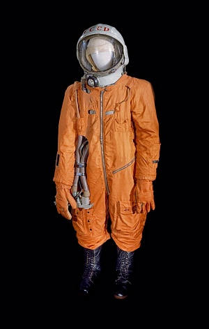 Yuri Gagarin wore a spacesuit similar to this one.