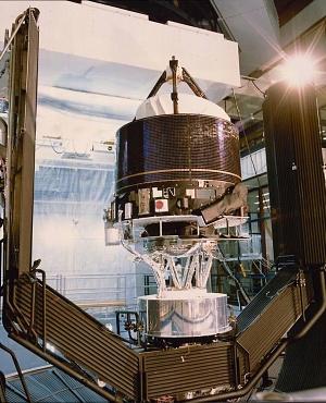 Giotto Space Probe
