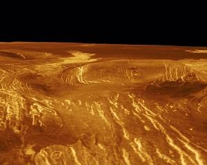 3D Perspective View of Idem-Kuva Corona on Venus