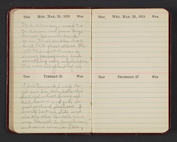 thumbnail image for Gertrude Abercrombie diary