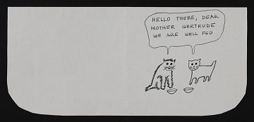 thumbnail image for Jerome Karidis letter to Gertrude Abercrombie