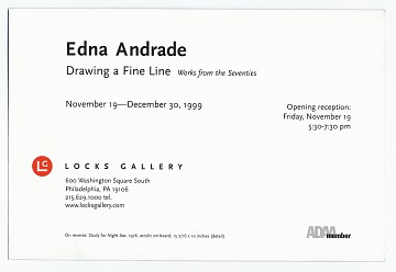 thumbnail image for Edna Andrade papers, 1917-1995