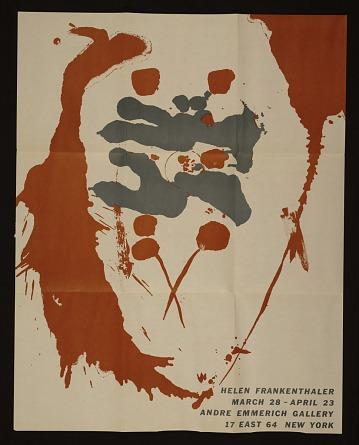 thumbnail image for Helen Frankenthaler exhibition poster