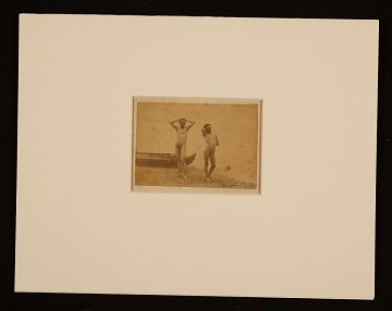 thumbnail image for Thomas Eakins and J. Laurie Wallace posing at water's edge