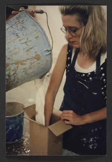 thumbnail image for Lesley Dill at Art Foundry in Santa Fe, New Mexico