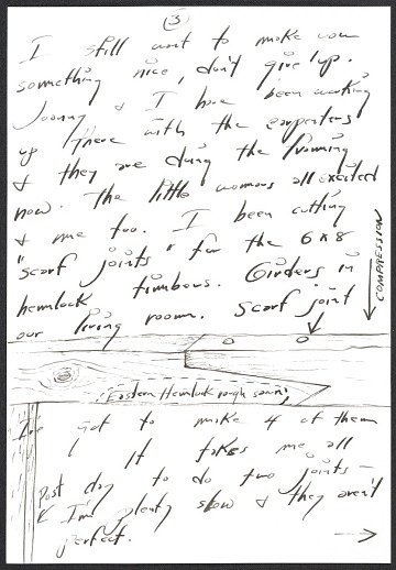 thumbnail image for H. C. (Horace Clifford) Westermann, Brookfield, Conn. letter to Billy Al Bengston, Venice, Calif.