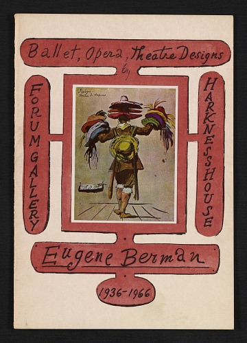thumbnail image for Eugene Berman, ballet, opera and theatre designs