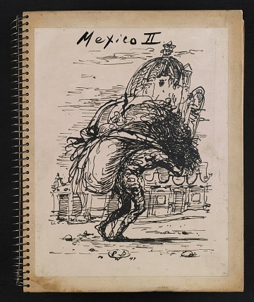 thumbnail image for Album of photographs of drawings of Mexico