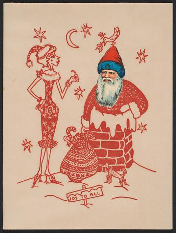 thumbnail image for Maurice Chevalier christmas card to Kathleen Blackshear