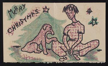 thumbnail image for Blanche Erst Christmas card to Kathleen Blackshear