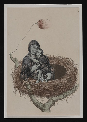 thumbnail image for Don Baum Christmas card to Kathleen Blackshear