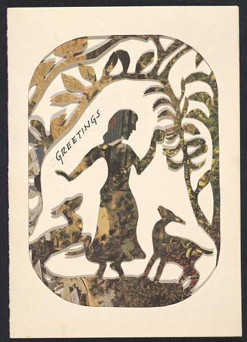 thumbnail image for Gertrude Lagerstrom, Chicago, Ill. christmas card to Kathleen Blackshear