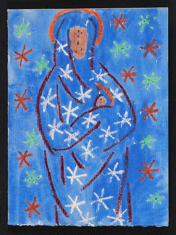thumbnail image for Andrew Bucci Christmas card to Kathleen Blackshear