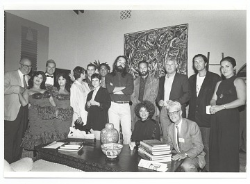 thumbnail image for Photograph of the artists included in the <em>Cuban Artists of the XXth Century</em> exhibition