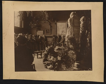 thumbnail image for Solon H. Borglum's funeral