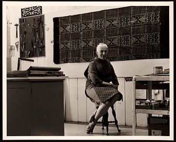 thumbnail image for Dorr Bothwell in her studio