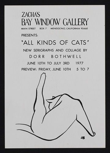 thumbnail image for <em>All Kinds of Cats</em> exhibition announcement