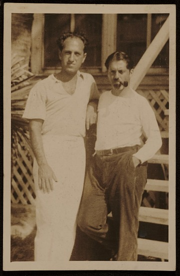 thumbnail image for George Gershwin and Henry Botkin