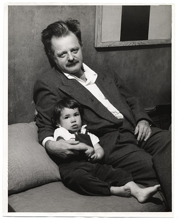 thumbnail image for Kenneth Rexroth and daughter