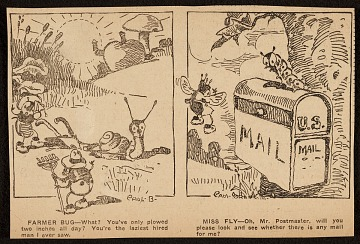 thumbnail image for Miss Fly comic strip