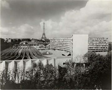 thumbnail image for UNESCO Headquarters in Paris. Marcel Breuer and Bernard Zehrfuss, Architects; Pier Luigi Nervi, Structural Engineer