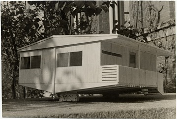 thumbnail image for Plas-2-Point prefabricated house, scale model, designed by Marcel Breuer