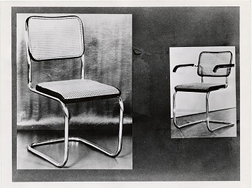 thumbnail image for Cesca dining room chair designed by Marcel Breuer