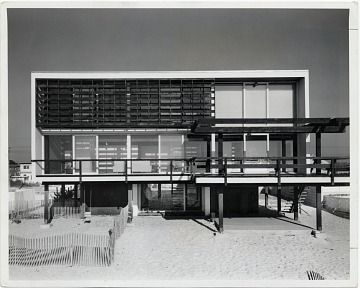 thumbnail image for McMullen Beach House, Mantoloking, New Jersey. Marcel Breuer and Herbert Beckhard, architects. Ben Schnall, photographer